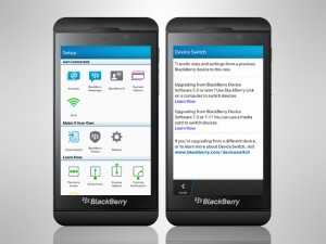 How to transfer all your data from your old blackberry to your new blackberry 10