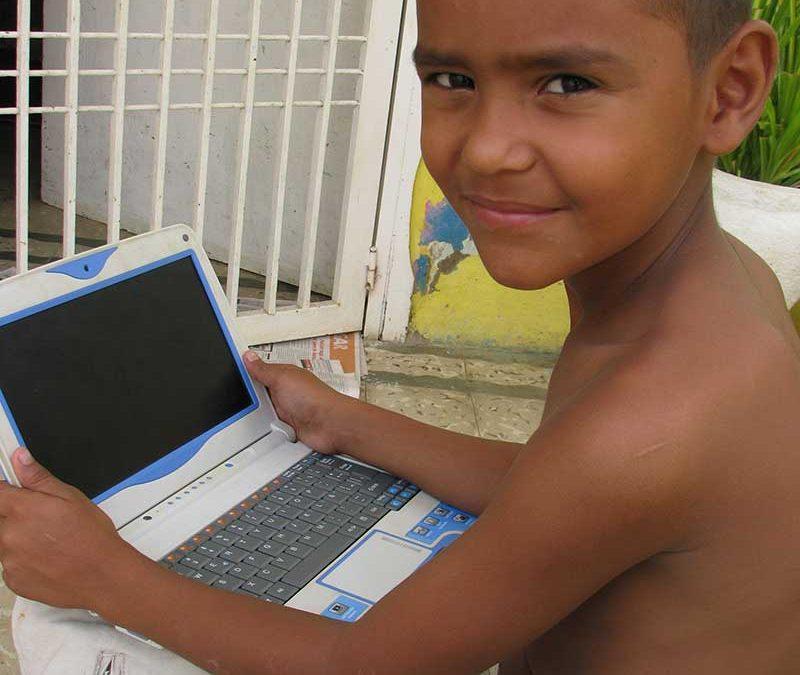 laptop child nicaragua