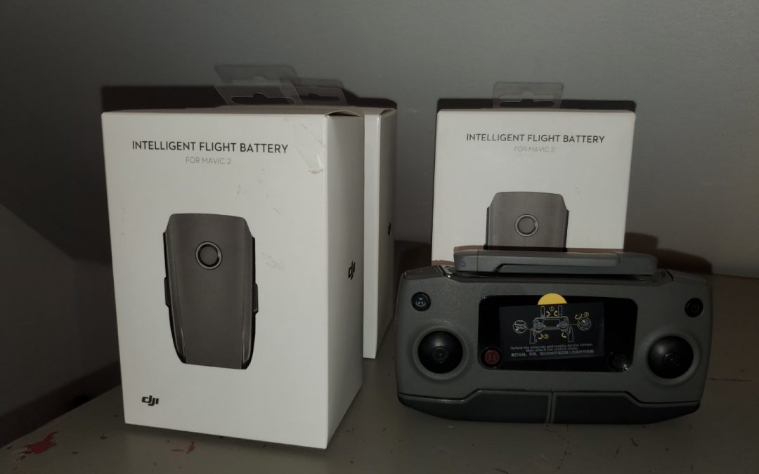 DJI Mavic 2 Pro battery swelling issue, also controller battery not charging issue.